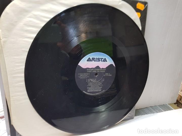 Discos de vinilo: DISCO MAXI SINGLE 33 -SHAWN CHRISTOPHER-DONT LOSE THE MAGIC- en funda original 1992 - Foto 3 - 244638615