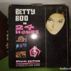 Discos de vinilo: DISCO BETTY BOO IN 24 HOURS. SPECIAL EDITION. FEATURING THE VINCE CLARKE&NORMAN COOK MIXES. Lote 244639305