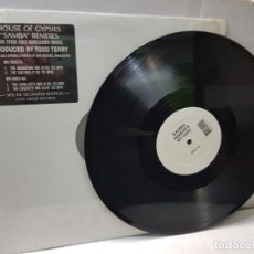 Discos de vinilo: DISCO 33 EPS -HOUSE OF GYPSIES-SAMBA REMIXES- EN FUNDA ORIGINAL 1992 SPECIAL DJ EDICIÓN LIMITADA. Lote 244639795