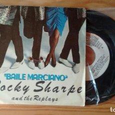 Discos de vinilo: SINGLE (VINILO) DE ROCKY SHARPE & THE REPLAYS AÑOS 80. Lote 244640990