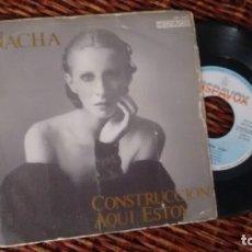 Discos de vinilo: SINGLE (VINILO) DE NACHA GUEVARA AÑOS 80. Lote 244642335