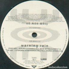 Discos de vinilo: ON – WARNING RAIN - THE SLY & ROBBIE BURUNDI DISC. Lote 254120800