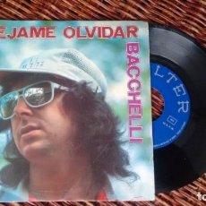 Discos de vinilo: SINGLE (VINILO) DE BACCHELLI AÑOS 70. Lote 244642540