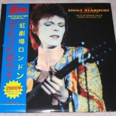 Discos de vinilo: DAVID BOWIE - LIVE AT THE RAINBOW THEATRE LONDON - EDICION LIMITADA VINILO ROJO - 2 LP´S - NM!!!. Lote 244642565