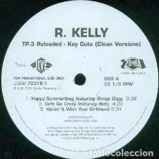 Discos de vinilo: R. KELLY ‎– TP.3 RELOADED - KEY CUTS - 2 LP. Lote 244642595