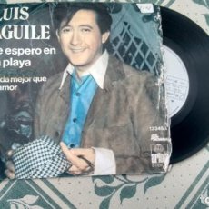 Discos de vinilo: SINGLE (VINILO) DE LUIS AGUILE AÑOS 70. Lote 244642640