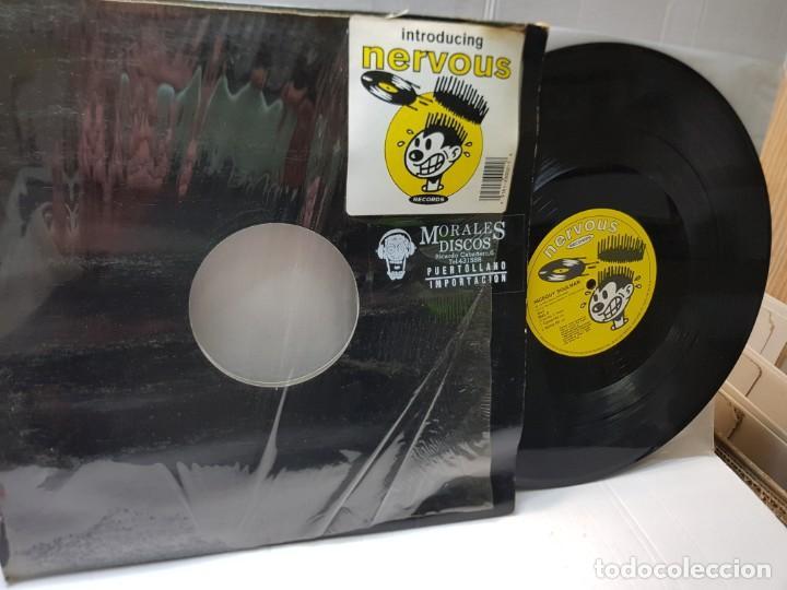 MAXI SINGLE 33 1/3 -NICEGUY SOULMAN-EGOTRIP MIX- EN FUNDA ORIGINAL 1991 (Música - Discos de Vinilo - Maxi Singles - Pop - Rock Internacional de los 90 a la actualidad)
