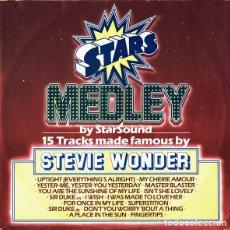 Discos de vinilo: STARSOUND – STARS ON STEVIE. Lote 244642990