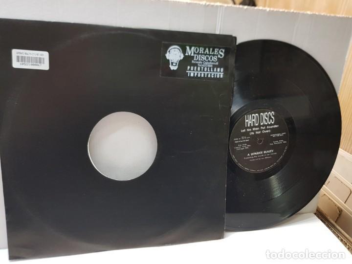 MAXI SINGLE 33 1/3 -LET NO MAN PUT ASUNDER-A SEPARATE REALITY- EN FUNDA ORIGINAL (Música - Discos de Vinilo - Maxi Singles - Pop - Rock Internacional de los 90 a la actualidad)