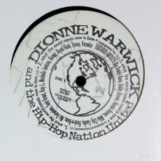 Discos de vinilo: DIONNE WARWICK & THE HIP-HOP NATION UNITED ‎– WHAT THE WORLD NEEDS NOW IS LOVE. Lote 244643795