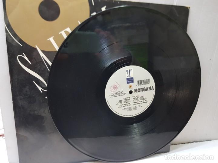 Discos de vinilo: MAXI SINGLE 33 -MORGANA-MELODIES- en funda original 1996 - Foto 3 - 244644270