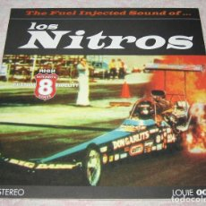 """Discos de vinilo: LOS NITROS - THE FUEL INJECTED SOUND OF - 10"""" VINILO BLANCO - LOUIE 1996- NM!. Lote 244644395"""