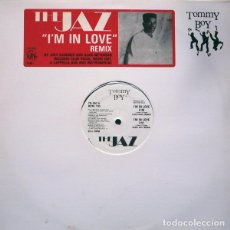 Discos de vinilo: THE JAZ ‎– I'M IN LOVE (REMIX). Lote 244645180