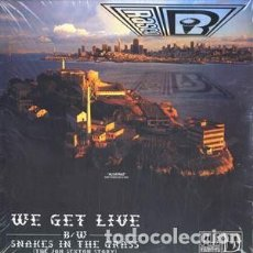 Discos de vinilo: RASCO ‎– WE GET LIVE / SNAKES IN THE GRASS (THE JON SEXTON STORY). Lote 244646365