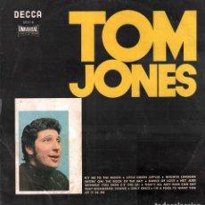 Discos de vinilo: TOM JONES - FLY ME TO THE MOON, DANCE OF LOVE, HEY JUDE..../ LP DE 1970 / CARATULA ROZADA RF-9245. Lote 244646730