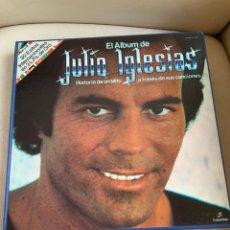 Discos de vinilo: ÁLBUM 3 VINILOS JULIO IGLESIAS. Lote 244648190