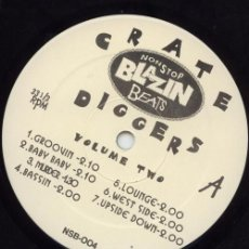Discos de vinilo: THE CRATE DIGGERS ‎– CRATE DIGGERS VOLUME TWO. Lote 244649925
