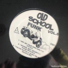 Discos de vinilo: VV.AA. - OLD SCHOOL FUNK VOL. 6 - 12'' MAXISINGLE NUEVO - AL B SURE, AVERAGE WHITE BAND, LEVERT.... Lote 244651600