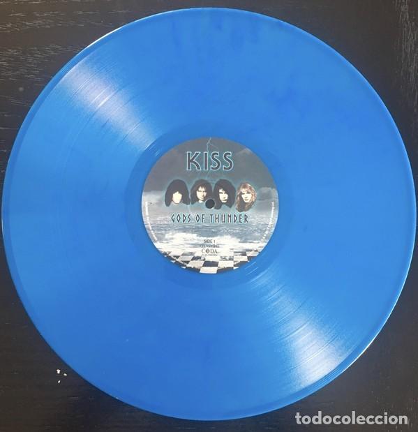 Discos de vinilo: Kiss – Gods Of Thunder / Limited Edition OF Only 1000 Copies Blue Vinyl - Foto 2 - 244652875