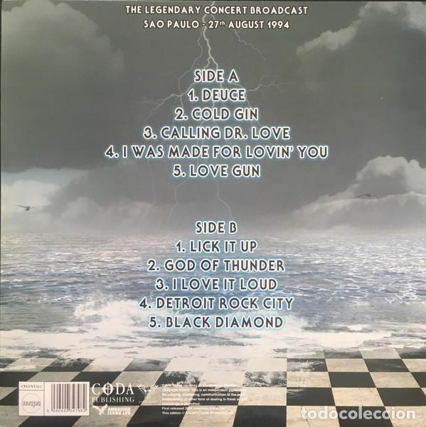 Discos de vinilo: Kiss – Gods Of Thunder / Limited Edition OF Only 1000 Copies Blue Vinyl - Foto 6 - 244652875