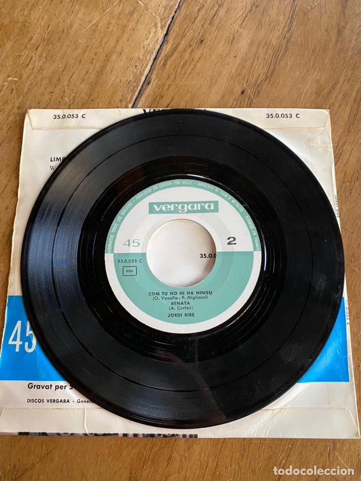 Discos de vinilo: Single EP Jordi Ribé //1963// Com tu no hi ha ningú,500milles,Renata y Limbo Rock - Foto 4 - 244653940