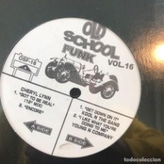 Discos de vinilo: VV.AA. - OLD SCHOOL FUNK VOL. 16 - 12'' MAXISINGLE NUEVO - CHERYL LYNN, YOUNG N COMPANY, KOOL N THE. Lote 244654745