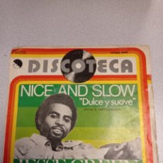 Discos de vinilo: JESSE GREEN - NICE AND SLOW -DULCE Y SUAVE- VOCAL E INSTRUMENTAL EMI 1976. Lote 244655465