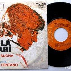 Discos de vinilo: NICOLA DI BARI - CHITARRA SUONA PIÙ PIANO / LONTANO, LONTANO - SINGLE RCA VICTOR 1972 BPY. Lote 244657075