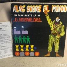 Discos de vinilo: EL AVIADOR DRO - ALAS SOBRE EL MUNDO - CON UN PAPELITO SUPLEMENTO. Lote 244657200