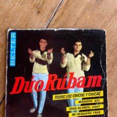 Discos de vinilo: SINGLE EP DÚO RÚBAM // 1963. Lote 244658585