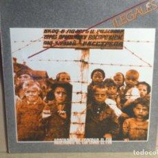 Discos de vinilo: ILEGALES - AGOTADOS DE ESPERAR EL FIN - VINILO 1984. Lote 244658785