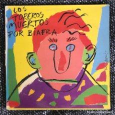 Discos de vinilo: TOREROS MUERTOS - POR BIAFRA - LP ARIOLA 1987. Lote 244659705
