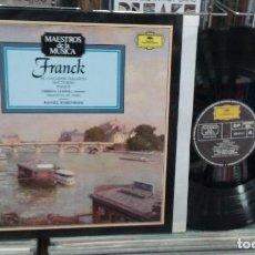 Discos de vinilo: LMV - CÉSAR FRANCK. EL CAZADOR MALDITO, NOCTURNO, PSIQUE. DEUTSCHE GRAMMOPHON 1976 - LP. Lote 244661845