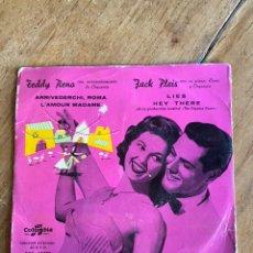 Discos de vinilo: SINGLE EP TEDDY RENO JACK PLEIS // COLUMBIA. Lote 244663785