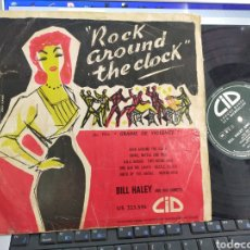 Discos de vinilo: ROCK AROUND THE CLOCK LP 10'' FRANCIA 1956 ESCUCHADO. Lote 244664800