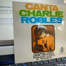 Discos de vinilo: CHARLIE ROBLES SOLO LA CARPETA DEL EP PEQUEÑA DIANA + 3 ESPAÑA 1963. Lote 244665700
