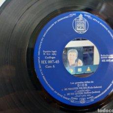 Discos de vinilo: DION SOLO EL VINILO DEL EP ME PREGUNTO PORQUE + 3 1963 ESCUCHADO. Lote 244666955