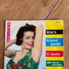 Discos de vinilo: SINGLE EP DEL FILM EL SECRETO DE MÓNICA // ALGUERÓ-CLAVELL. Lote 244667645