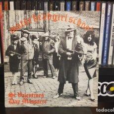 Disques de vinyle: MOTORHEAD / GIRLSCHOOL - ST VALENTINES DAY MASSACRE. Lote 244668190