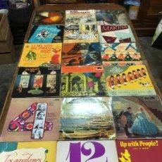 Discos de vinilo: LOTE DE 18 DISCOS LPS DE ORQUESTAS, ZARZUELAS, OPERAS, VARIOS. Lote 244668400