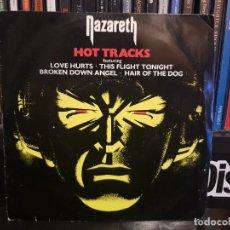 Discos de vinilo: NAZARETH - HOT TRACKS. Lote 244668925