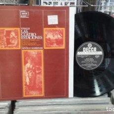 Discos de vinilo: LMV - VIVALDI. LAS CUATRO ESTACIONES. ALAN LOVEDAY / SIMON PRESTON. DECCA 1981 - LP. Lote 244669295