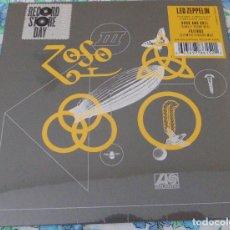 Discos de vinilo: LED ZEPPELIN– ROCK AND ROLL (SUNSET SOUND MIX) / FRIENDS (OLYMPIC STUDIOS MIX)- SINGLE VINILO COLOR. Lote 244681775