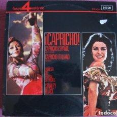 Discos de vinilo: LP - CAPRICHO - STANLEY BALCK CON LA ORQUESTA DEL FESTIVAL DE LONDRES (SPAIN, DECCA 4 FASES 1967). Lote 244682290