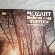 "Discos de vinilo: MOZART - SINFONIA Nº41 ""JUPITER"" MARITIM KLASSIK AUSLESE. Lote 244685585"