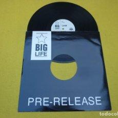 "Discos de vinilo: 12"" ORB - A HUGE EVER GROWING REMIX - UK PRESS - BIG LIFE PROMO 1 (EX++/M-). Lote 244686980"