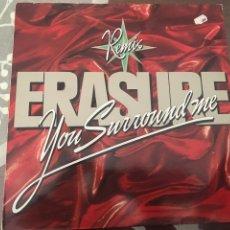 Discos de vinilo: ERASURE YOU SOURROUND ME REMIX. Lote 244693315