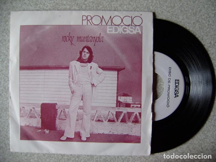 ROCKY MUNTANYOLA.CRYSTAL HOTEL/DRAMA DE MERCERIA....RARISIMO PROMO COMO NUEVO (Música - Discos de Vinilo - EPs - Solistas Españoles de los 50 y 60)