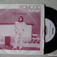 Discos de vinilo: ROCKY MUNTANYOLA.CRYSTAL HOTEL/DRAMA DE MERCERIA....RARISIMO PROMO COMO NUEVO. Lote 244694730