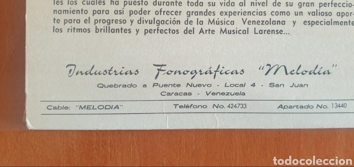 Discos de vinilo: LP ORQUESTA LA PEQUEÑA MAVARE DE JUANCHO LUCENA - Música Venezolana (Venezuela - Atlantic - 1970) - Foto 3 - 244695105